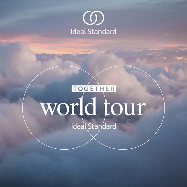 Berlijn is tweede halte in Together World Tour van Ideal Standard