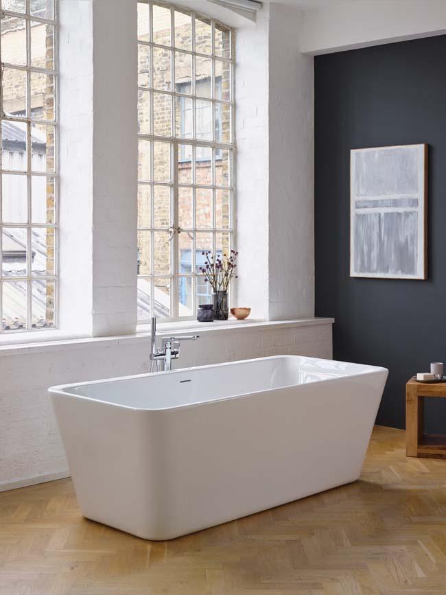 een vrijstaand bad geeft allure voorlichtingsburo wonen. Black Bedroom Furniture Sets. Home Design Ideas