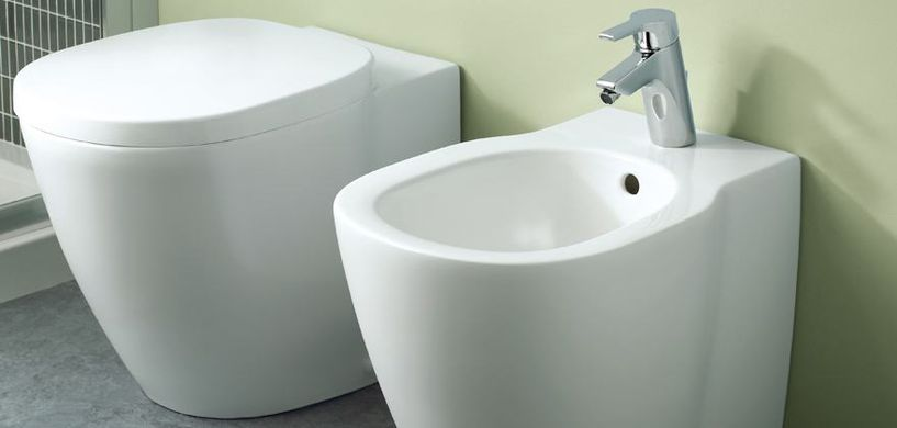Ideal Standard_staand toilet en bidet