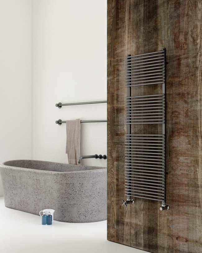 Badia verwarmt de badkamer