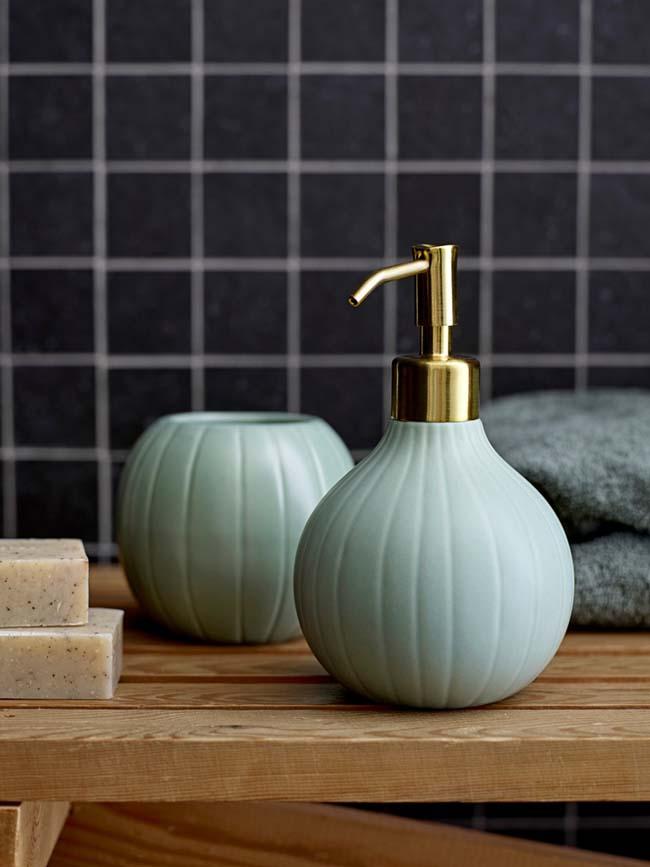 Scandinavische touch in de badkamer