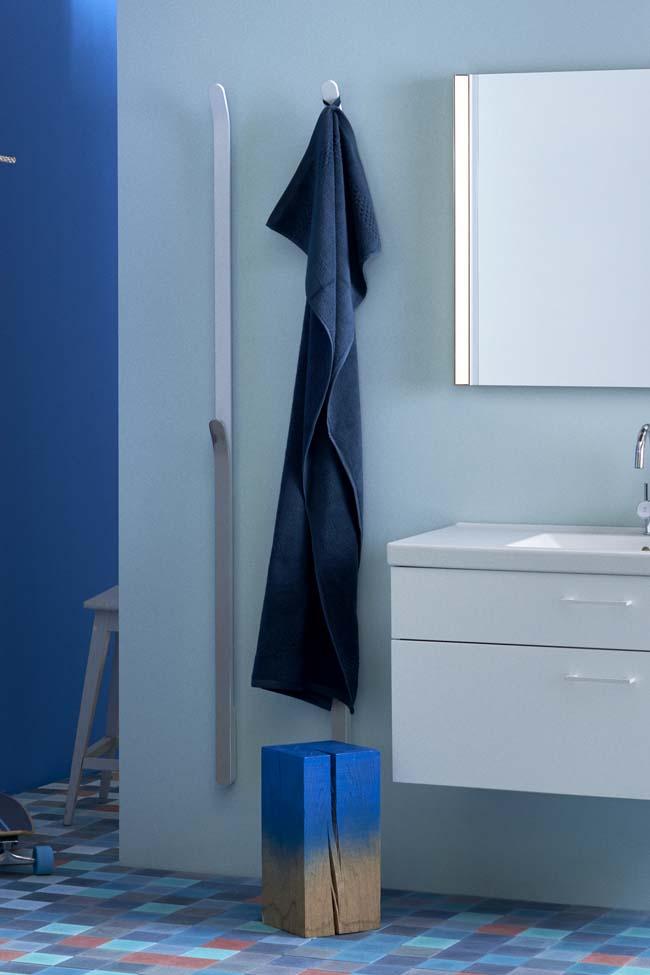 Altijd een heerlijke warme handdoek na het nemen van een douche of bad