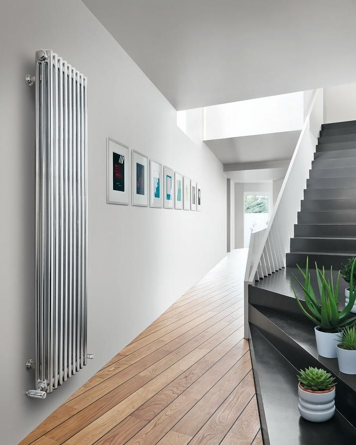 Horizontaal of verticaal, de radiator als blikvanger