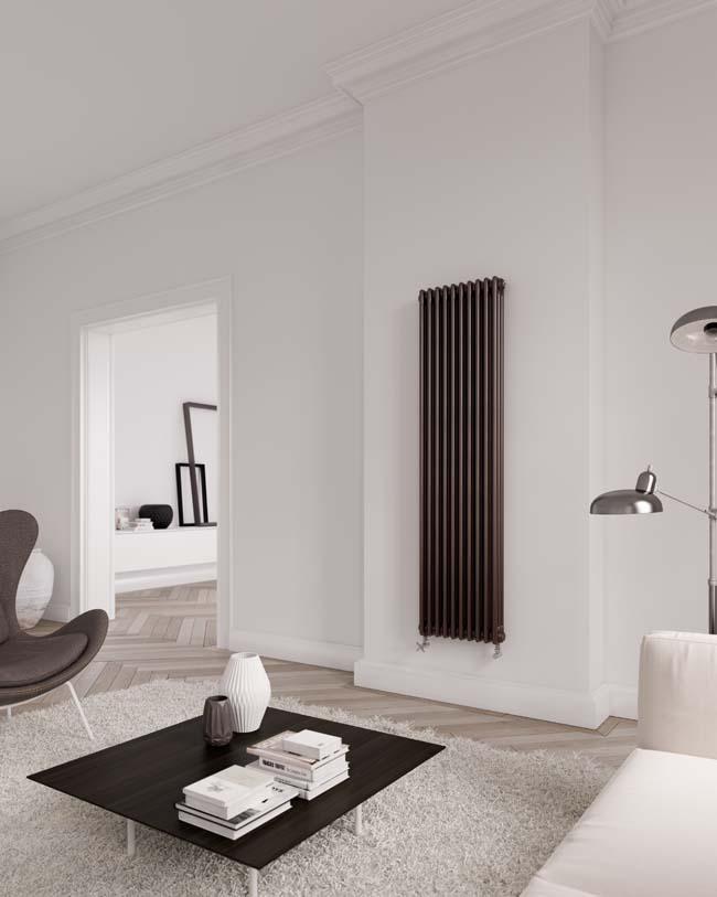 Het comfort van radiatoren