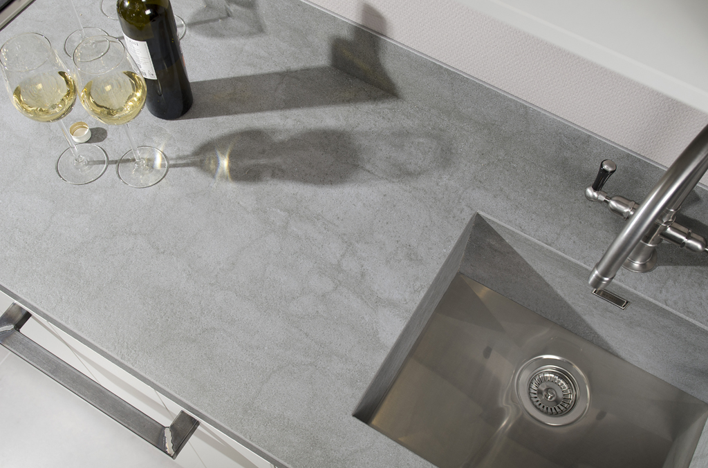 Beton Keukenblad : Keukenblad met beton ?look & feel? – Voorlichtingsburo Wonen