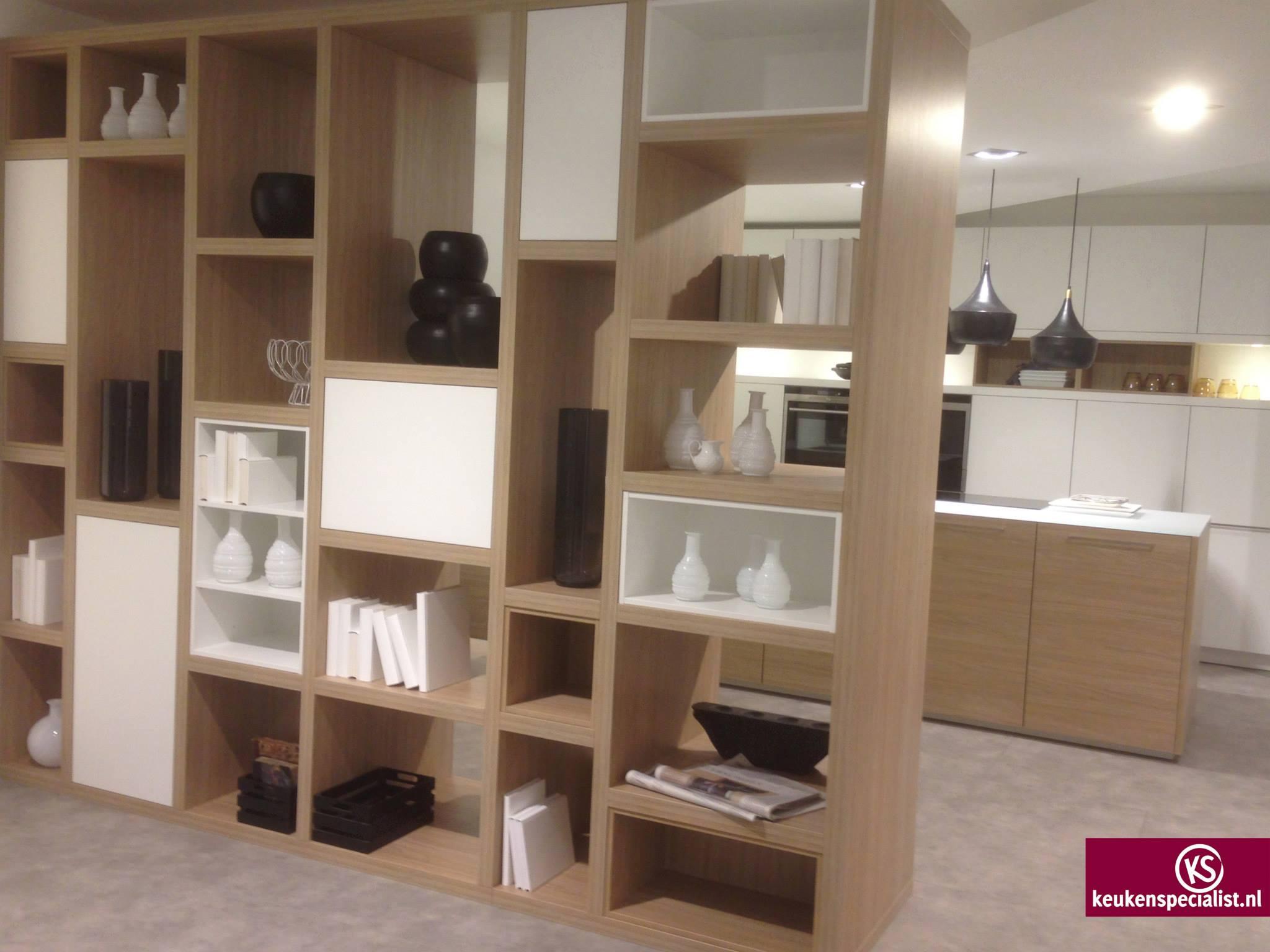 Roomdivider voor de keuken voorlichtingsburo wonen - Eetkamer en woonkamer ...