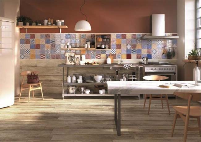 Lingen Keramiek decortegels in de keuken