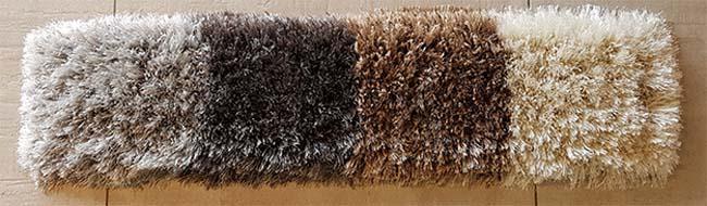 Een vloerkleed maakt de ruimte af