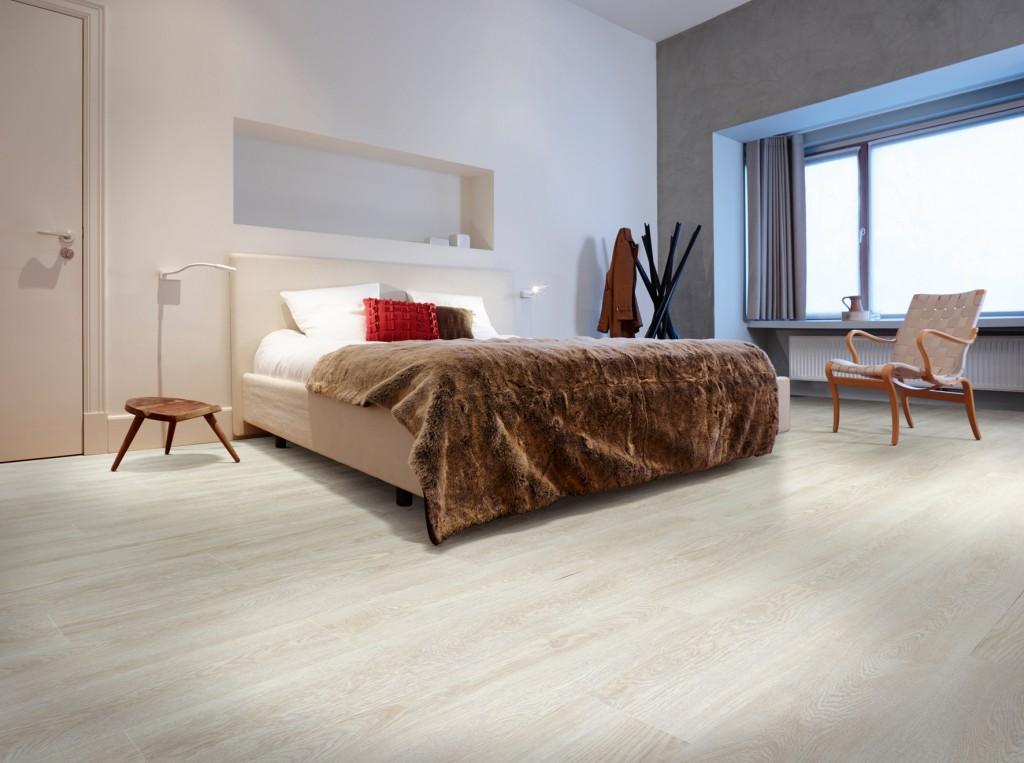 Sst zachtjesu vinylvloer in de slaapkamer voorlichtingsburo wonen
