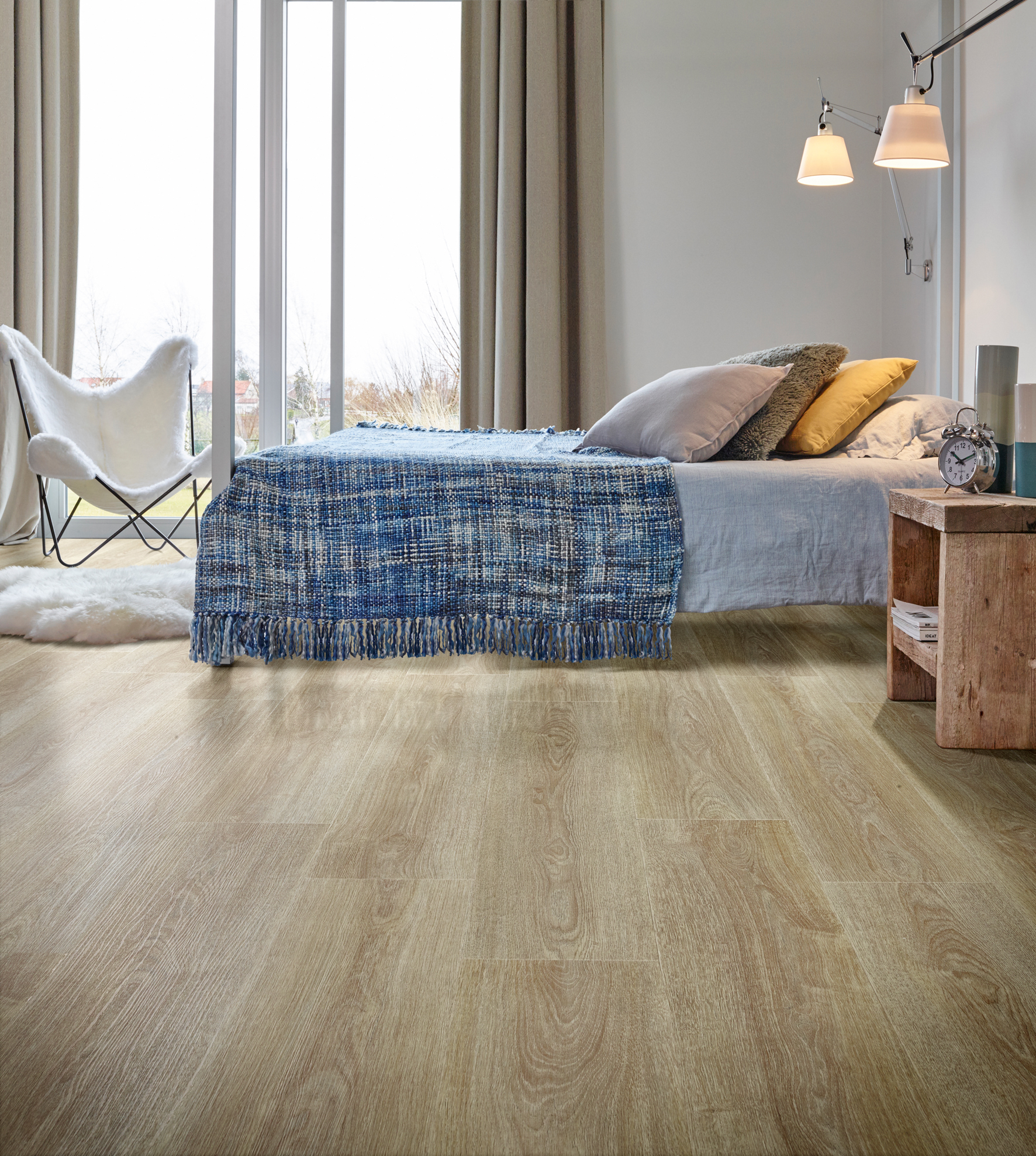 Sst zachtjes… vinylvloer in de slaapkamer   voorlichtingsburo wonen