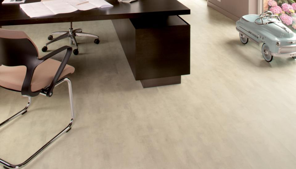 Moduleo vloer voor werkkamer
