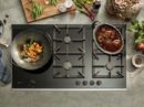 Gaskookplaat met Flame Select en restwarmte indicator