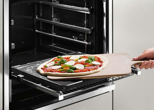 Pizzasteen voor een krokante bodem