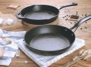 Hoe onderhoud je een gietijzeren pan