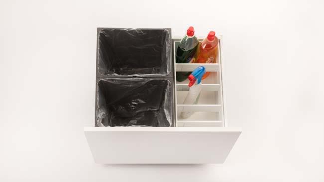 Hoe afval ook mooi kan zijn in je keukenlade