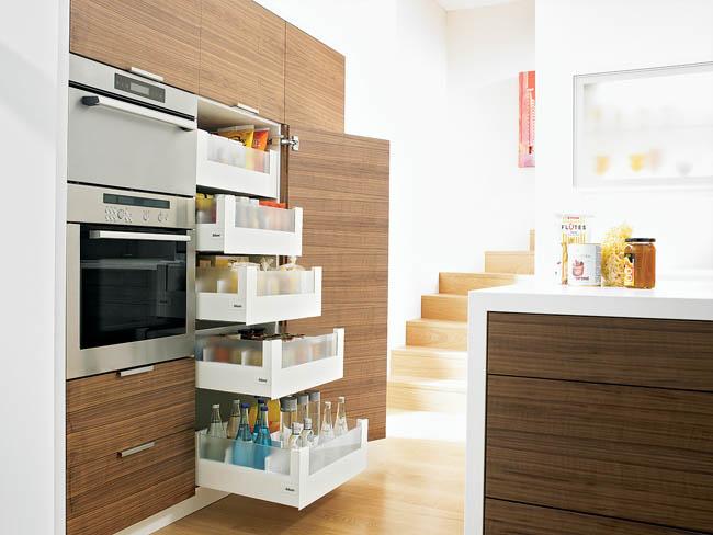 Optimale bergruimte in de keuken