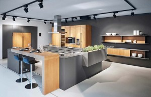 Poggenpohl keuken in kleur Diamantgrijs