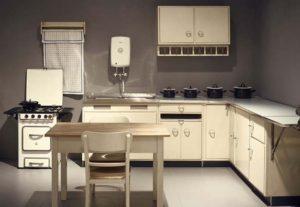 Pionier van de moderne keuken voorlichtingsburo wonen