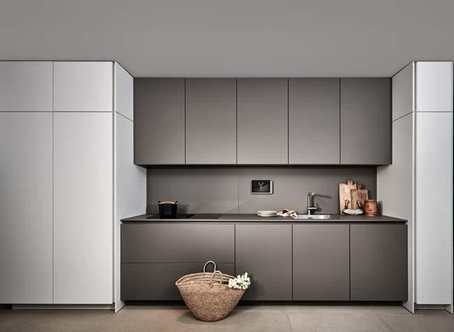 Keukenkast Zonder Greep : Greeploze keuken voor een strak design voorlichtingsburo wonen