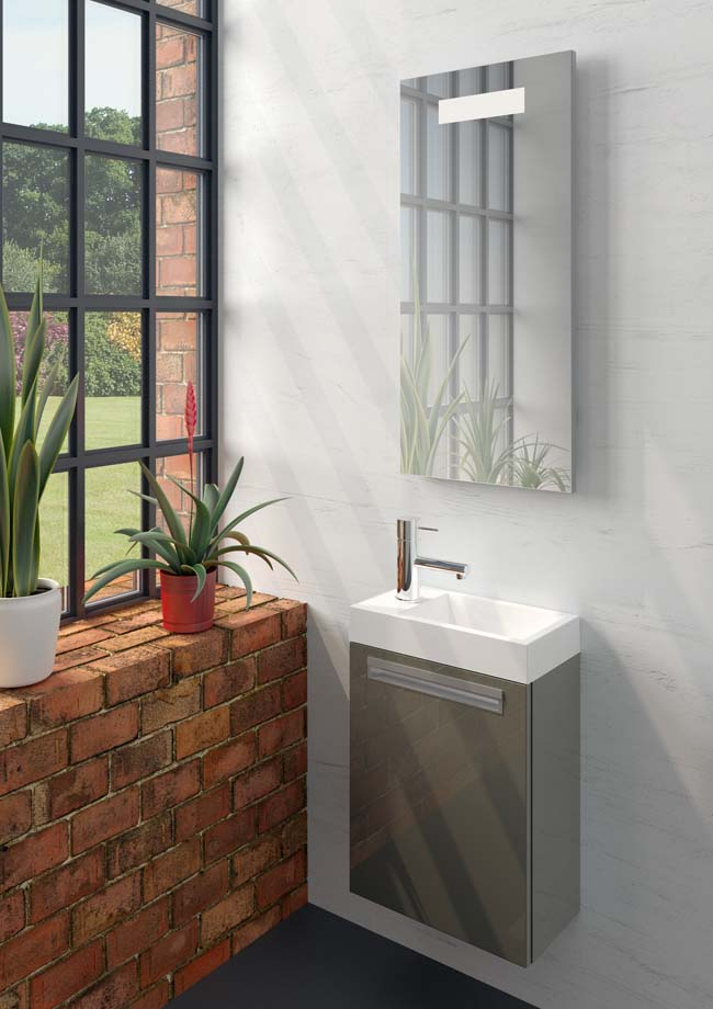 Lucca: compact toiletmeubel