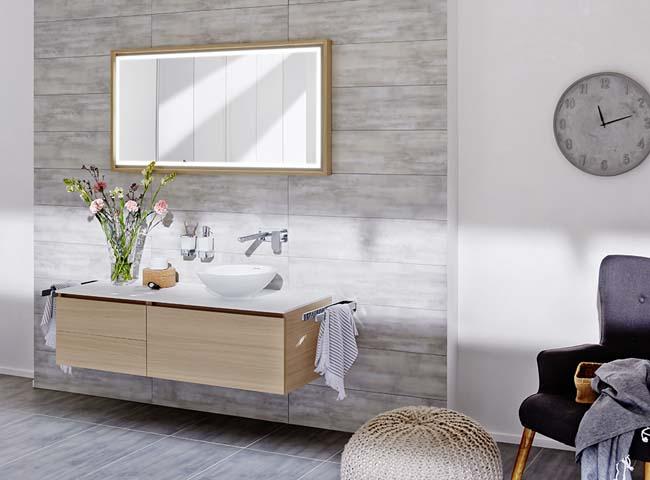 Badkamermeubel avella is natuurlijk en ruim voorlichtingsburo wonen