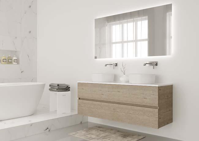 Cesio is een nieuwe lijn badkamermeubels