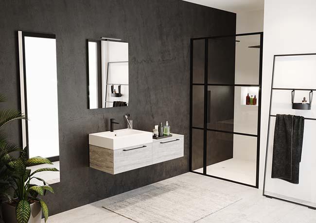 Livit trendy modulair badkamerinterieur voorlichtingsburo wonen