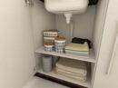 Panama sifon zorgt voor meer ruimte in het keukenkastje