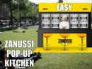 Pop-up Kitchen van Zanussi