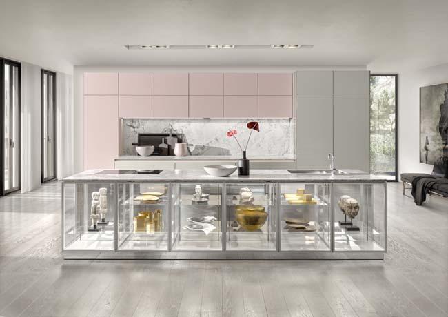 Transparante keuken met SieMatic Colors