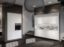 De nieuwe geometrie van de keuken