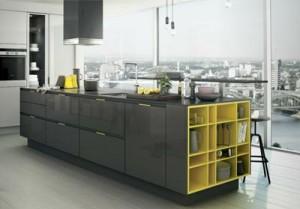 Geel De Keuken : Keuken met verrassende kleuraccenten voorlichtingsburo wonen
