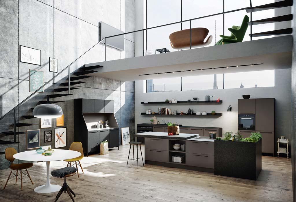 Keuken voor urban leefstijl voorlichtingsburo wonen - Keuken open concept ...