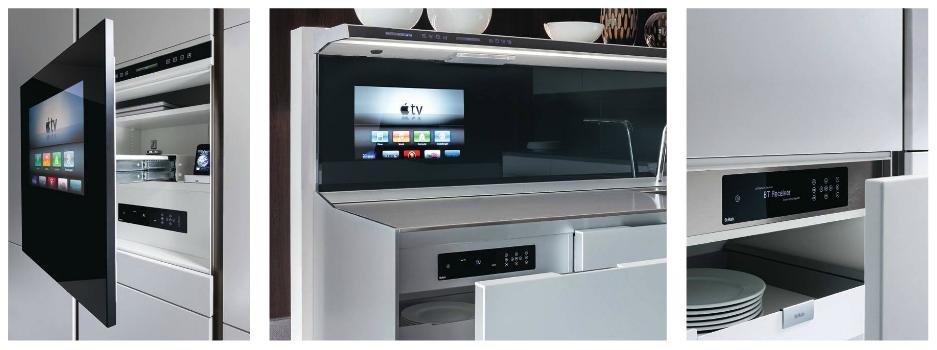 SieMatic keuken met multimedia
