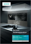 Brochure Siemens keukenapparatuur