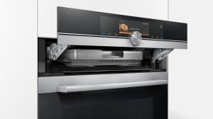 Siemens iQ700 Bakoven met warmhoudlade