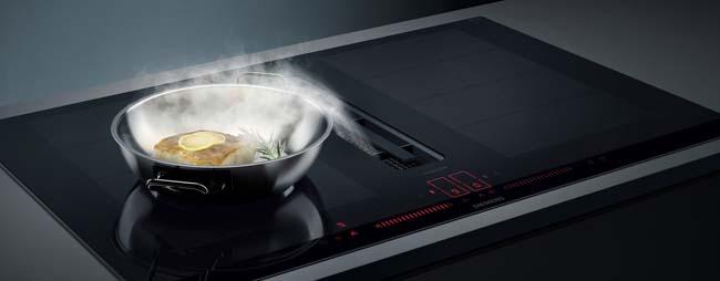 Geniet van een geurvrije open keuken