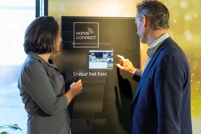 Vernieuwde showroom van Siemens