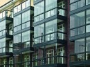 Voorzetbalkon bij wooncomplex Hamburg