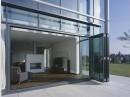 Glazen vouwwand van Solarlux