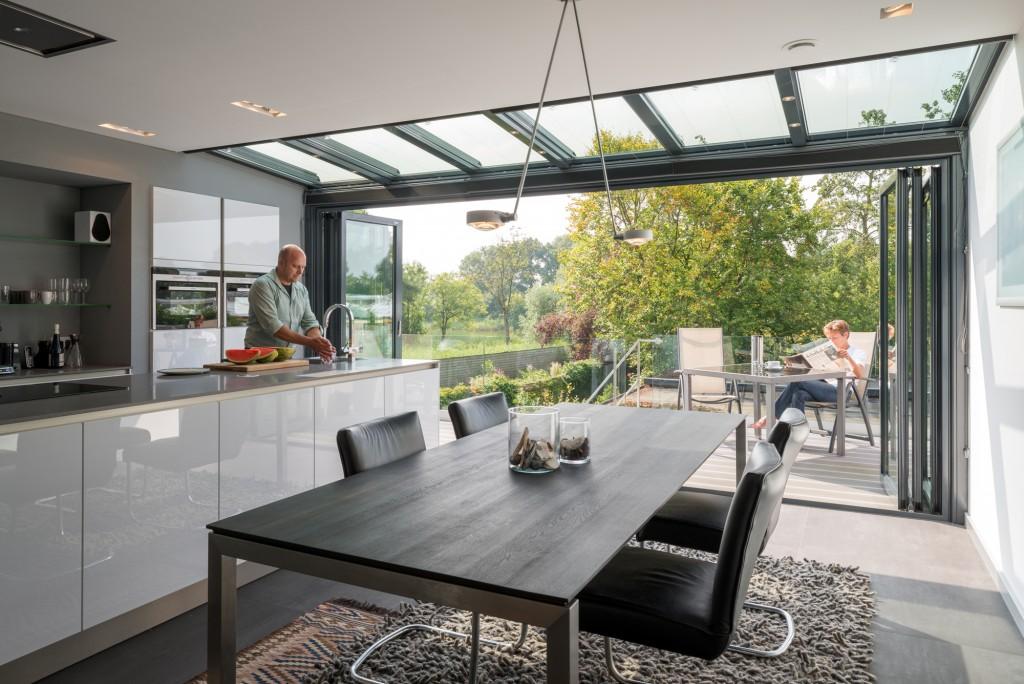 Keuken met natuurlijke verlichting voorlichtingsburo wonen