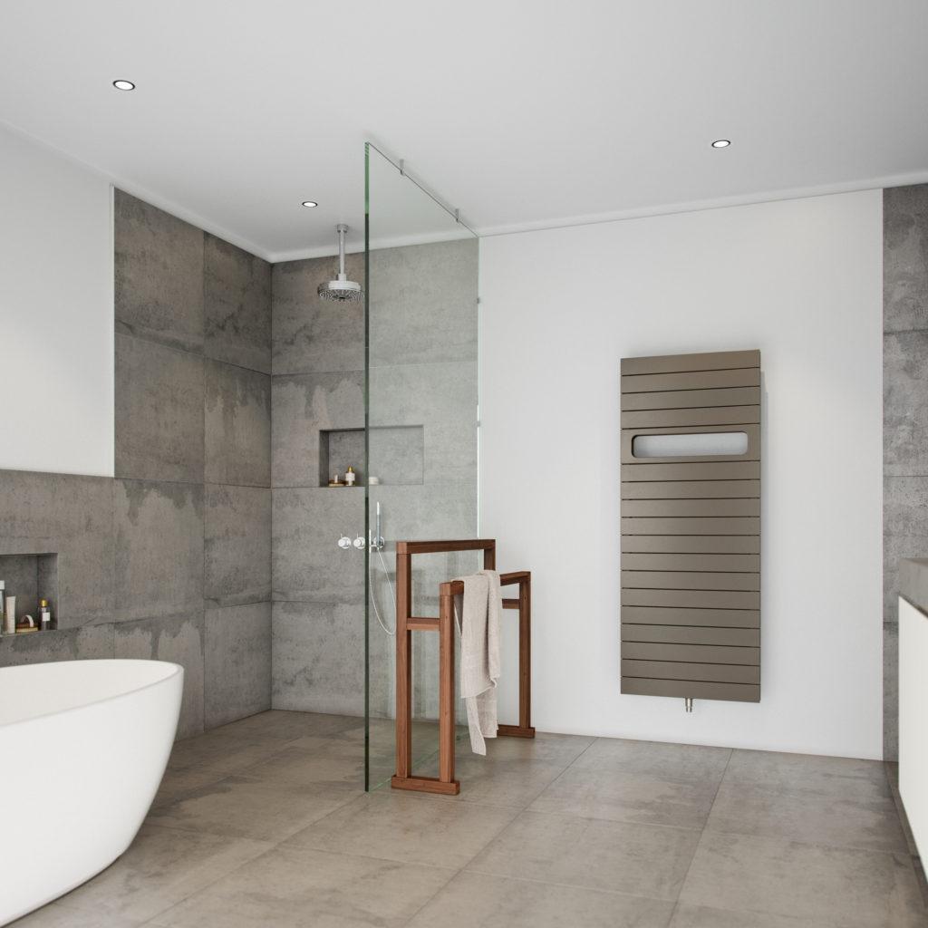 Soorten radiatoren - badkamer