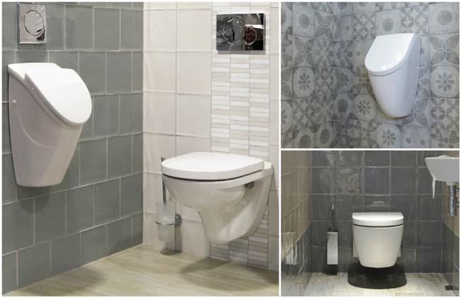 Tegels voor toilet mix & match