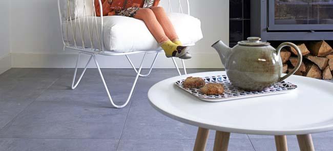 Vloertegels zijn duurzaam, zuinig en comfortabel