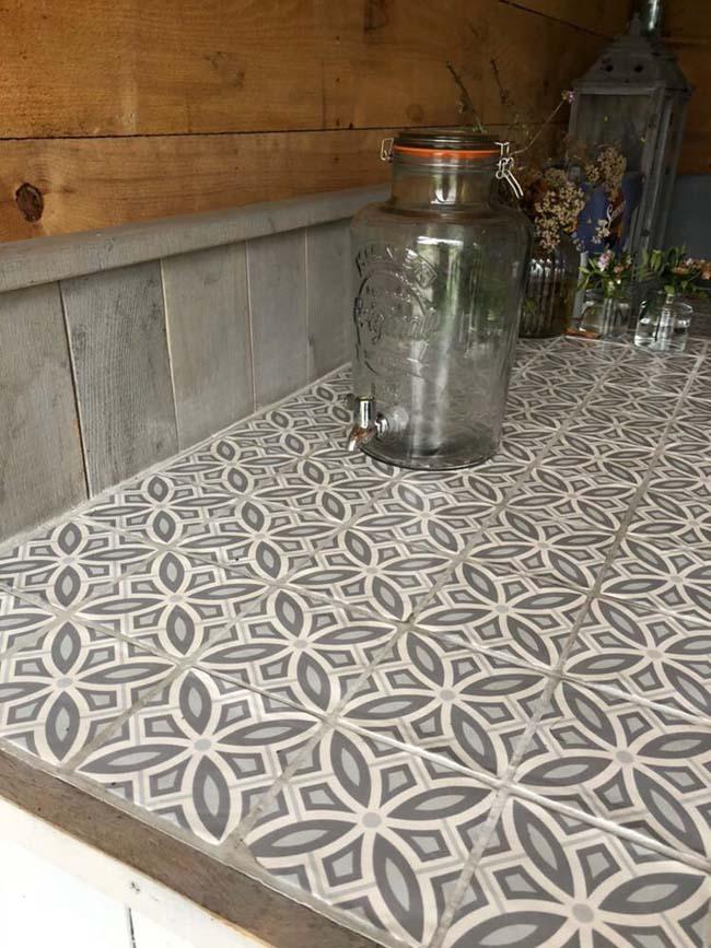 Tegels geven de keuken een extra dimensie