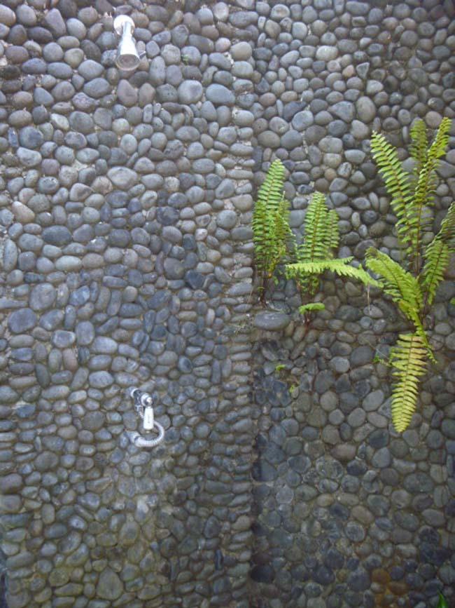 Mozaïektegels met kiezelstenen