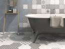 Patchwork tegels in de badkamer