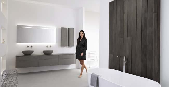 Modern en strak badkamermeubel taste voorlichtingsburo wonen