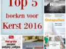 Top 5 boeken voor Kerst 2016
