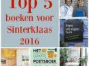 Top 5 boeken voor Sinterklaas 2016